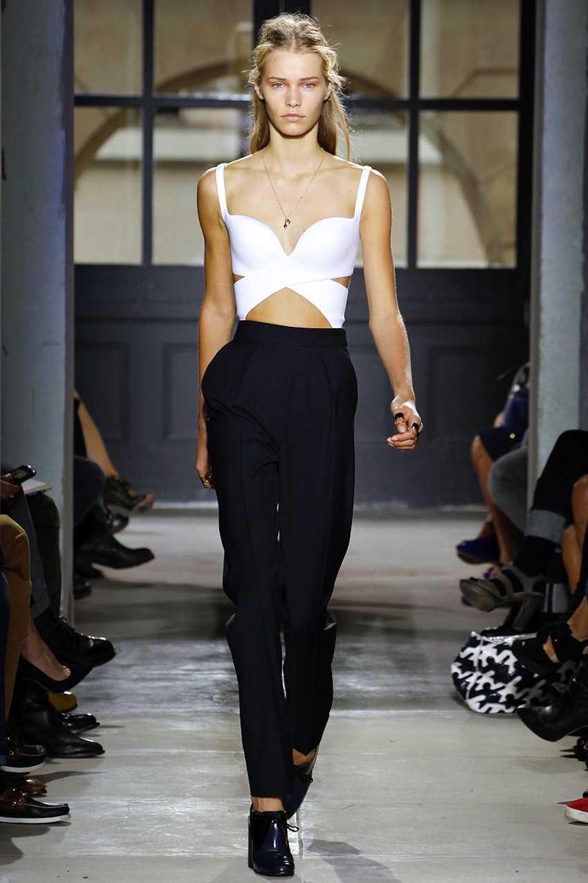 Balenciaga Crop Top