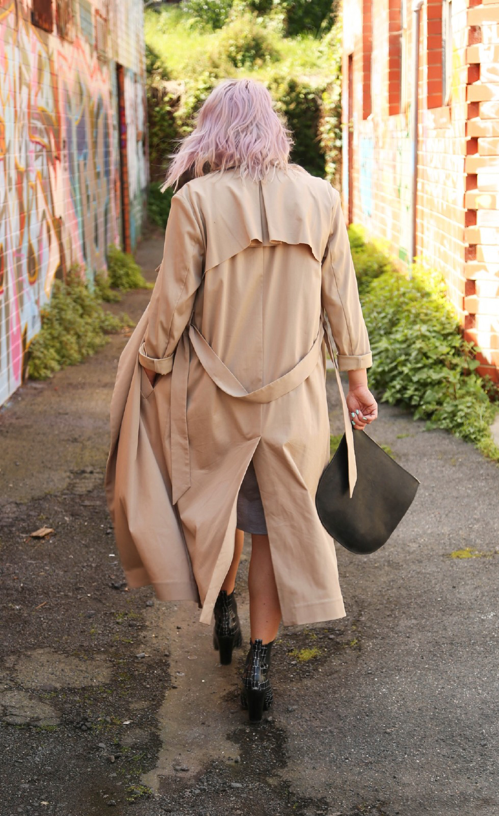 Jac and Jack trench coat